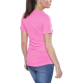 FOCUS Jam Tee Women fluo pink/white